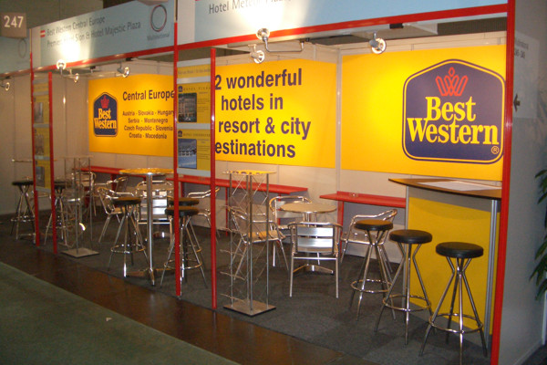 Messestand Best Western